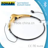 New neckband headphone Wireless bluetooth headset beautiful sport stereo wireless headphone