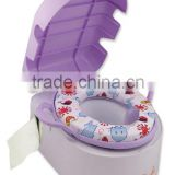PM2835 Deluxe Potty Seat Trainer with Toilet Paper Holder