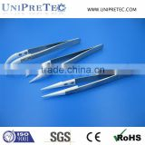 Stainless Steel Handle Technical Ceramic Tip Tweezer/Zirconia Ceramic Tweezer