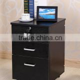 3 drawer living room small file cabinet showcase design,bedroom hanging cabinet design