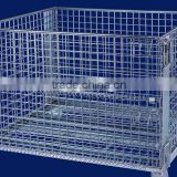 Warehouse Collapsible wire mesh cages/baskets
