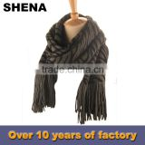 shena fashion hat and scarf knitting machine for man