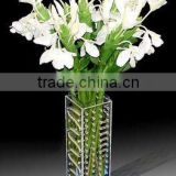 new fashion acrylic transparent flower vase