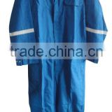 Blue Flame Retardant Nomex Oil Field Coverall