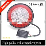DC 12V 6 Inch LED Stop/Turn/Tail Light with Red Lens