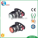 Wholesale Fantasy-lighting LED Bicycle Light Set USB Rechargeable Aluminum Alloy Front Light And Rear Light With Cheap price