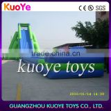 50m long big inflatable hippo slide, hippo inflatable water slide, commercial outdoor inflatable giant slide with factory price