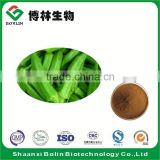 Wholesale Natural Dried Okra Powder Fresh Okra Extract Powder