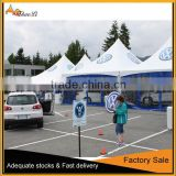Manual Assembly Gazebo Tent,Waterproof Fabric Garden Gazebo,Aluminum Metal Outdoor Gazebo