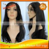 Virgin Indian Remy Human Hair Lace Front Wigs, High Quality AAAAA Indian Full Lace Wig In Stock For Sale
