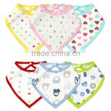 2016 china supplier cheap cotton triangle bandana Baby Bibs wholesale                                                                                         Most Popular