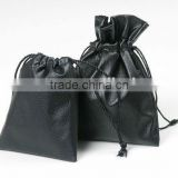 Hot sale high quality faux leather jewelry pouch