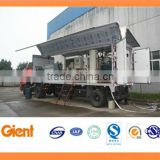 Bio-medical waste sterilizer & shredder truck