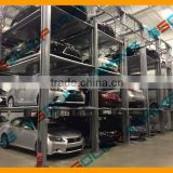 Parking Solution MPS 3 4 Multi-level Large SUV Heavy Duty Low Budget electric Automated smart machine Parking system