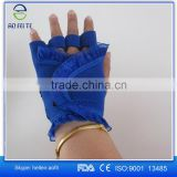 New Aofeite Royal Blue One Size Gloves Bike With Lace Customize Material Design OEM