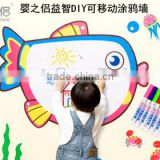 DIY Lovely Baby Wall Sticker For Kids Room wall stickers for baby room room decor 3d wall stickers
