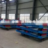 7T Aircraft Pallet dolly trailer for aviation ground support equipment