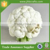 Cauliflower Sheep Crafted Of Stone Resin Figurines