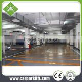 simple valet mechanical hydraulic stacker parking system,double stack parking equipment