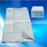 made in china factory price Real Far Infrared Sauna Blanket w/ 3 Zone Digital Controller