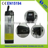 INquiry about 36v 10ah electric bike li ion battery with charger for sale
