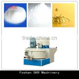 SKR machinery High speed PVC powder caco3 oil mixer machine for PP/PE/PVC/ABS plastic extrusion