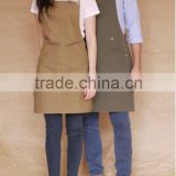 china factory price cheap Canvas apron with removable leather straps