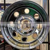 stainless steel wheel rims for cars in hot selling