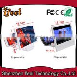 2015 Movie Amplifier PVC 3D Mobile Screen Enlarge,3d Projection Screen,Phone Screen Magnifier