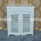 chinese antique furniture used luxury wine glass display cabinet