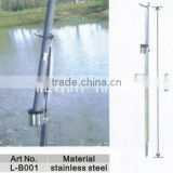 stainless steel Sand Spike Surf Spike Fishing Rod Holder Foot Push