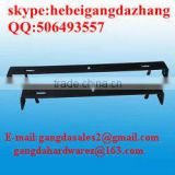 steel construction plywood spacer in concrete building