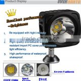 4x4 offroad worklight auto accessories led worklight 24+3 led work light for tent with hook and magnet use 3xaa batter