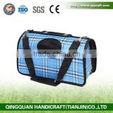 BSCI QingQ Factory capsule pet carrier bag cat bed and carrier bags