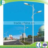 induction led lamp street light with hot dip galvanized lighting pole