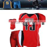 plain custom American Football Uniforms / High Quality Football Uniforms / Sublmated Football Uniforms
