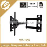 Economical lcd plasma tilting tv wall mount best sell tv rack design full motion black tv bracket up to 55 inch screen