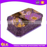 Luxury Fancy cardboard bath bomb gift box packaging
