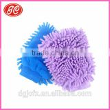 2 IN 1 Microfiber Chenille Car cleaning wash glove and used for car cleaing bathroom kitchen