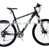 27.5inch wheel aluminium alloy 6061 MTB mountain bike bicycle 24speed alloy lockable suspension fork SD590 hot sale