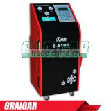 Refrigerant recovery and recharging full automatic Auto A/C Recovery & Recharge Machine