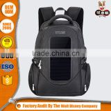 High quality solar charger backpack for laptop charger
