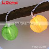 2015 LIDORE Nylon Imini Lantern Party Christmas Ball String Lights