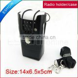 Leather Case/ Holder for Motorola two way Radio GP3688/3188