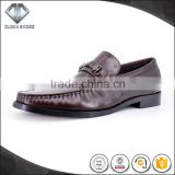100% hand made moccasin dress shoes quality genuine leather made in guangdong selling best online