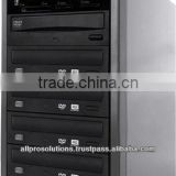 M-BC-3-BD Blu-Ray CD DVD Duplicator 4 Drives w/ Memory Card to DVD Copy (MS / CF / SD / MMC / USB)