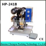 INQUIRY ABOUT Hp-241b Manual /auto Electric Bag Code Printing Machine for export