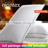 China Supply Wholesale Microfiber Pillow for Hotel & Home Use with Full Package Service