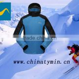 2014 hangzhou tymin sportex 100% polyester apparel ski clothing european cheap one piece snow suits