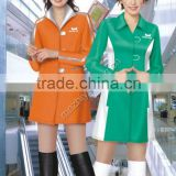 Hot selled sales woman Promotional uniform (OEM)